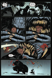 30 Days of Night: Volume 3 Run, Alice, Run - Comic Page with Panels Metal Print by Christopher Mitten