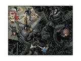 Locke and Key: Omega 4 - Page Spread Pósters por Gabriel Rodriguez