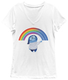 Women's: Inside Out- Sad'S Rainbow T-shirts