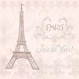 Elegant Paris Square III Prints by Linda Baliko