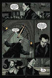 30 Days of Night: Volume 2 - Comic Page with Panels Pôsteres por Christopher Mitten