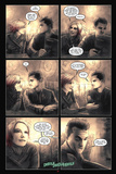 30 Days of Night: Eben & Stella - Comic Page with Panels Posters av Justin Randall