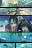 Bill Sienkiewicz - 30 Days of Night: Beyond Barrow - Comic Page with Panels Fotky