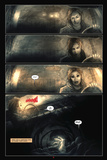 30 Days of Night: Eben & Stella - Comic Page with Panels Plakater av Justin Randall