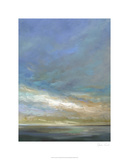 Coastal Clouds Triptych III Limited Edition by Sheila Finch