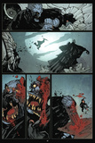 30 Days of Night: Volume 3 Run, Alice, Run - Comic Page with Panels Poster por Christopher Mitten