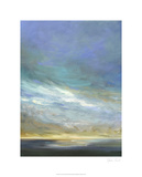 Coastal Clouds Triptych II Limited Edition by Sheila Finch
