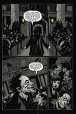 30 Days of Night: Volume 2 - Comic Page with Panels Metal Print by Christopher Mitten
