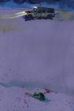 Bill Sienkiewicz - 30 Days of Night: Beyond Barrow - Full-Page Art Fotky