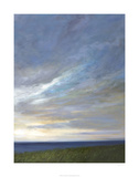 Coastal Clouds Diptych II Limited Edition by Sheila Finch