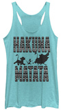 Juniors Tank Top: Lion King- Hakuna Matata Print T-shirts