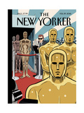 The New Yorker Cover - February 29, 2016 Regular Giclee Print by Dan Clowes