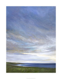 Coastal Clouds Diptych I Limited Edition by Sheila Finch