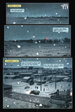 30 Days of Night: Volume 2 - Comic Page with Panels Posters por Christopher Mitten