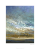 Coastal Clouds Triptych I Limited Edition by Sheila Finch