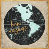 Bon Voyage World I Poster af Elizabeth Medley