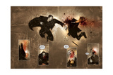 30 Days of Night: Dark Days - Page Spread Stampe di Ben Templesmith