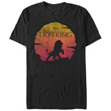 Lion King- Desert Sun Logo Camisetas