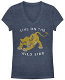 Juniors: Lion King- Live On The Wild Side T-shirts