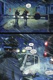 30 Days of Night: Beyond Barrow - Comic Page with Panels Plakater av Bill Sienkiewicz