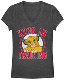 Juniors: Lion King- King In Training T-Shirts