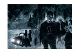 Ben Templesmith - 30 Days of Night: Return to Barrow - Page Spread Plakát