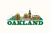 City Living Oakland Natural Prints