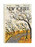 The New Yorker Cover - November 7, 1970 Giclee Print by Abe Birnbaum