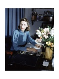 Vogue - September 1942 Regular Photographic Print by Horst P. Horst