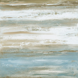 Teal Sunrise I Kunstdruck von Patricia Pinto