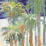Wood Shadow Palms II Prints by Jane Slivka
