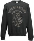 Crewneck Sweatshirt: Sons Of Anarchy- Reaper Logo T-shirt
