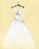 Art Sketch of Beautiful Dress Photo by Anna Ismagilova