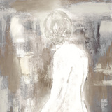 Neutral Figure on Abstract Square II Prints by Lanie Loreth