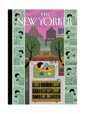 Urban Bliss - The New Yorker Cover, July 1, 2013 Giclee Print by Ivan Brunetti