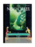 Inside, Outside - The New Yorker Cover, July 29, 2013 Regular Giclee Print by Lorenzo Mattotti