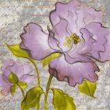 Purple Florals I Print by Lanie Loreth