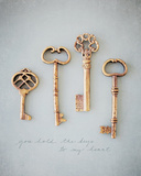 You Hold the Keys Photo by Susannah Tucker
