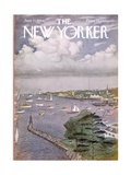 The New Yorker Cover - June 13, 1964 Regular Giclee Print by Albert Hubbell