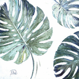 Organic with Blues I Kunstdrucke von Patricia Pinto