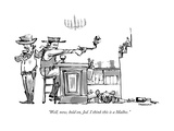 """Well, now, hold on, Jed. I think this is a Malbec."" - New Yorker Cartoon Giclee Print by Corey Pandolph"