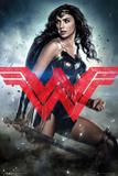Batman Vs. Superman- Wonder Woman Solo Poster