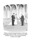 """Will you stand by him through humiliating revelation after humiliating re"" - New Yorker Cartoon Premium Giclee Print by Paul Noth"
