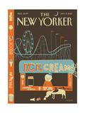 13 Flavors - The New Yorker Cover, September 2, 2013 Regular Giclee Print von Frank Viva