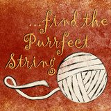 Find the Purrfect String Posters by Sd Graphics Studio