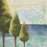 Recycle Trees II Art by Elizabeth Medley