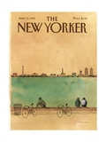 The New Yorker Cover - June 22, 1981 Giclee Print by Abel Quezada