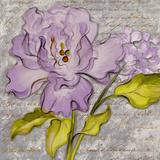 Purple Florals II Prints by Lanie Loreth