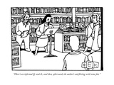 """There's an informal Q. and A., and then, afterward, the author's sad flir"" - New Yorker Cartoon Giclee Print by Bruce Eric Kaplan"