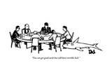 """You can get good cards but still have terrible luck."" - New Yorker Cartoon Premium Giclee Print by Drew Dernavich"
